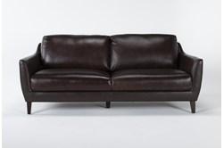 """Gigi Leather 81"""" Sofa"""
