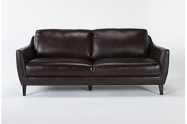 "Gigi Leather 81"" Sofa"