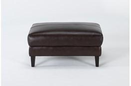 Gigi Leather Ottoman