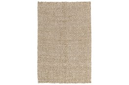 5'x8' Rug-Woven Silver/Ivory