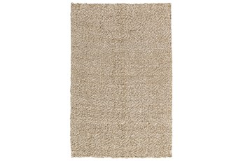 8'x10' Rug-Woven Silver/Ivory