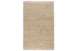 31X96 Runner Rug-Distressed Natural Fiber