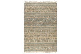 31X96 Runner Rug-Distressed Natural Fiber Ivy