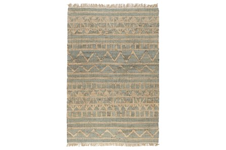 31X96 Runner Rug-Distressed Natural Fiber Ivy - Main