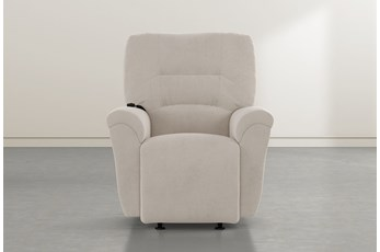 Zara Taupe Power Rocker Recliner