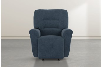 Zara Denim Power Rocker Recliner
