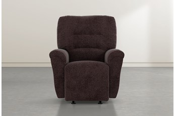 Zara Coffee Power Rocker Recliner