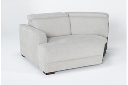 Chanel Grey Left Arm Facing Cuddle Chaise With Ratchet Headrest