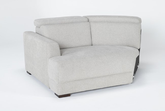 Chanel Grey Left Arm Facing Cuddle Chaise With Ratchet Headrest - 360