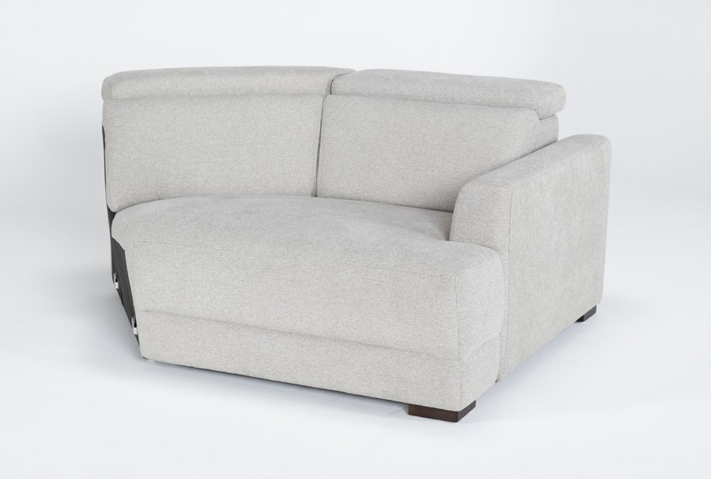 Chanel Grey Right Arm Facing Cuddle Chaise With Ratchet Headrest