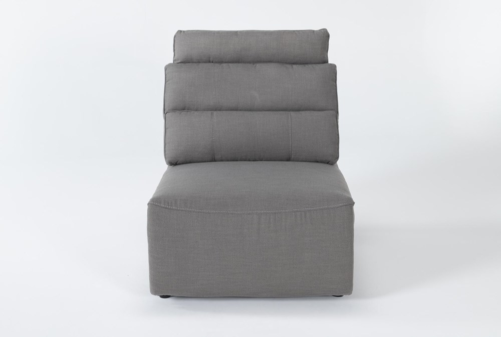 Sagan Armless Pwr Recliner With Power Backrest & Removable Headrest