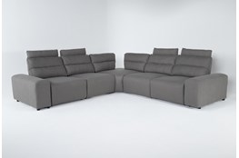 "Sagan 7 Piece 134"" Power Reclining Sectional With 2 Armrests"