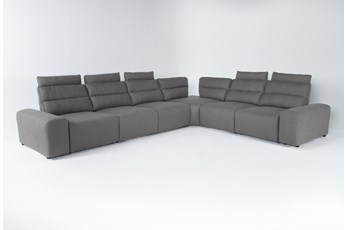 "Sagan 8 Piece 168"" Power Reclining Sectional With 2 Armrests"
