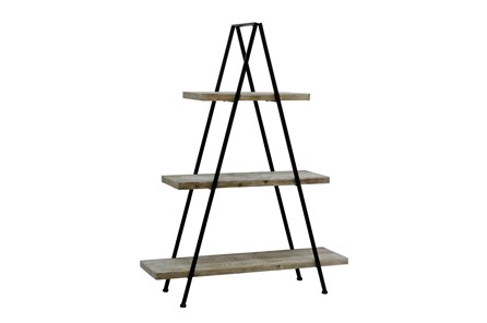 54 Inch Pyramid Bookcase - Main