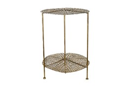 Lotus 22 Inch Accent Table