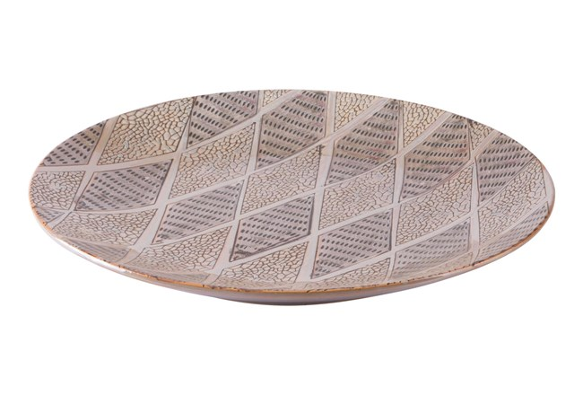 Boho Patterned Plate - 360