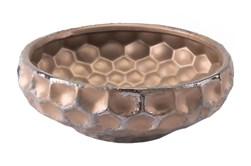 4 Inch Hammered Bronze Bowl