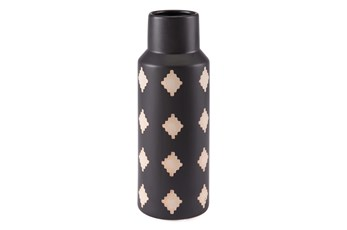 14 Inch Black And Beige Bottle