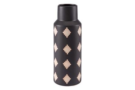 14 Inch Black And Beige Bottle - Main