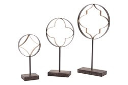 Cut Out Shapes On Base Set Of 3