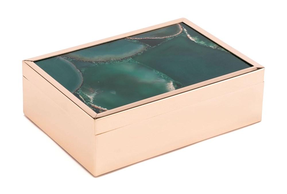 Green Stone Box