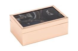 4 Inch Black Stone Box