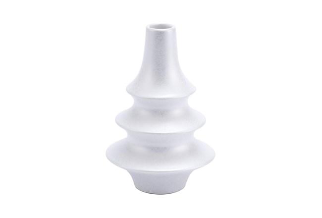 7 Inch Pearl White Bottle - 360