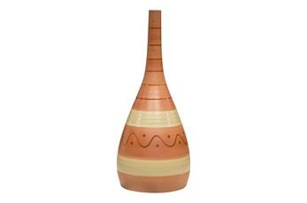 25 Inch Boho Brown Bottle