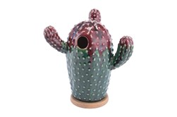 Two Tone Cactus Figurine