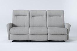 "Zachery II Fabric Power Space Saver 78"" Reclining Sofa"