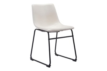 Bluff White Dining Side Chair