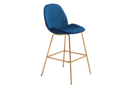 Heron Blue 29 Inch Bar Stool Set Of 2 - Main