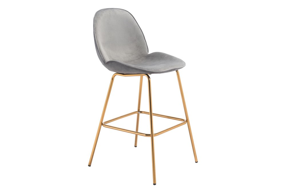 Heron Graphite 29 Inch Bar Stool Set Of 2