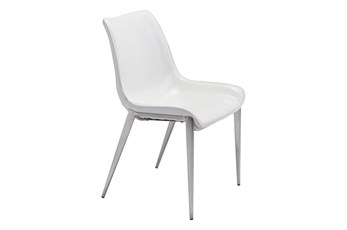 Sutton White Dining Side Chair Set Of 2