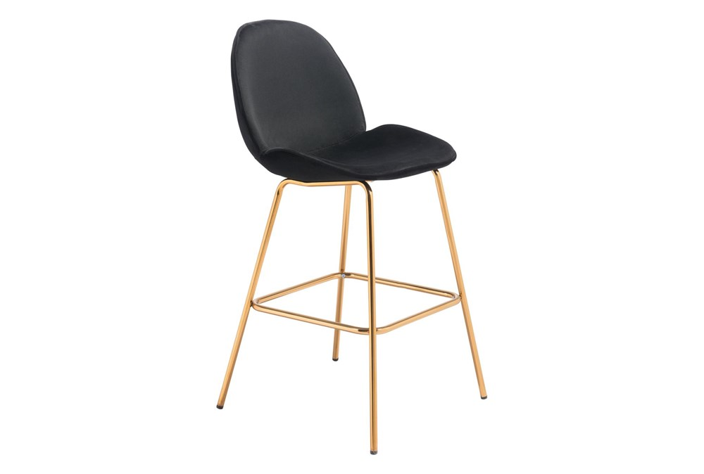 Heron Black 29 Inch Bar Stool Set Of 2