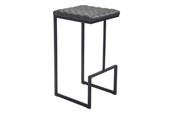 Atom Grey 30 Inch Bar Stool