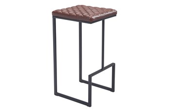 "Atom Brown 30"" Bar Stool"