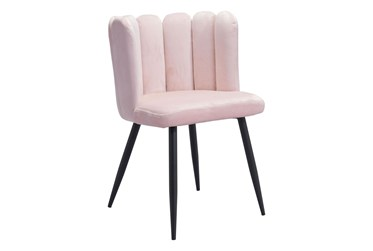 Adkins Pink Dining Side Chair