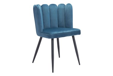 Adkins Blue Dining Side Chair Set Of 2