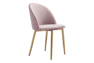 Comfy Pink Dining Side Chair Set Of 2