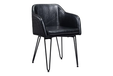 Tony Black Dining Side Chair Set Of 2
