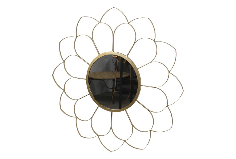 33 Inch Flower Wall Mirror