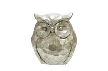 14 Inch Gold Owl Figurine