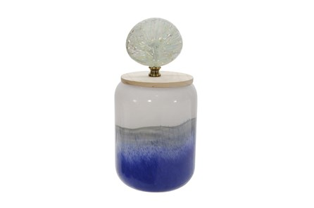 11 Inch Jar With Shell Lid - Main