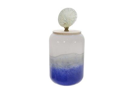 14 Inch Jar With Shell Lid - Main