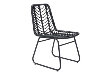 Trask Black Dining Side Chair Set Of 2