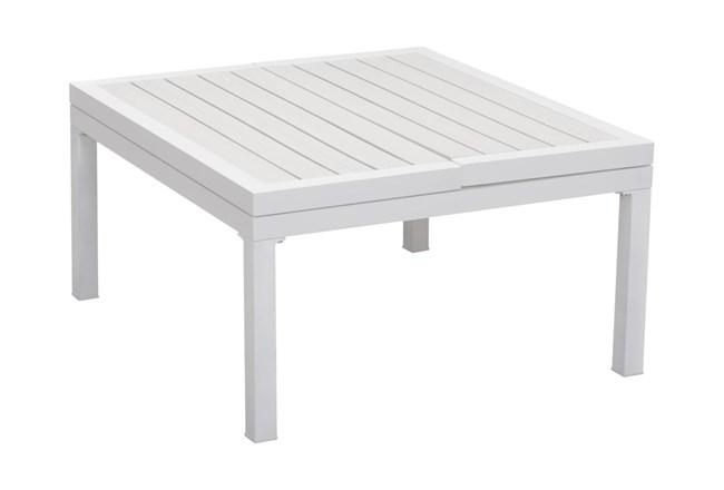 Kent White Lift-Top Coffee Table - 360