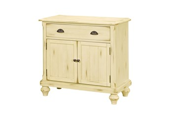 Buttercream Farmhouse 2 Door Chest