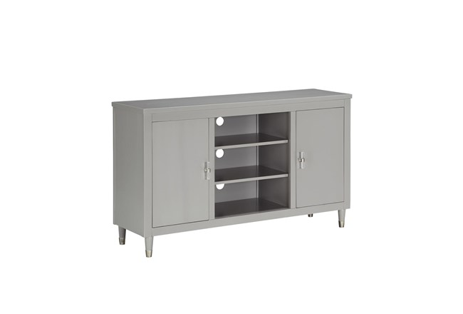 Grey Wash Tv Stand - 360