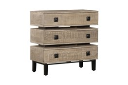 Stacked 3 Drawer Chest